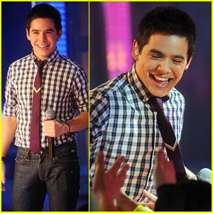 David Archuleta Takes Over TRL