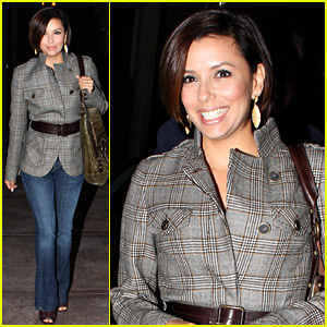 Eva Longoria's Takes Care Of Her Baby Beso