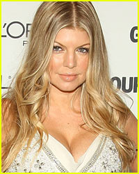 Fergie Goes Glamour-ous