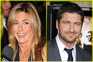 Jennifer Aniston Snags Gerard Butler For 'Goree Girls'