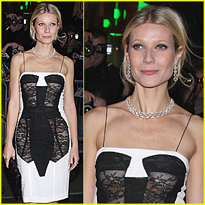 Gwyneth Paltrow's Sheer Frontal Fun