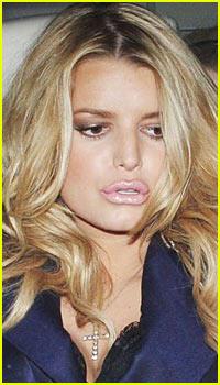 Jessica Simpson Has Luscious Lips