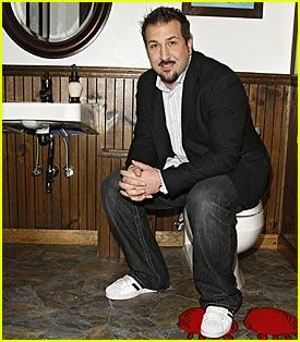 Joey Fatone Opens NYC Toilet
