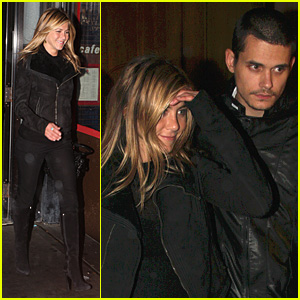 Jennifer Aniston and John Mayer Go Goldbar