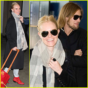 Kate Bosworth Flies Coast To Coast