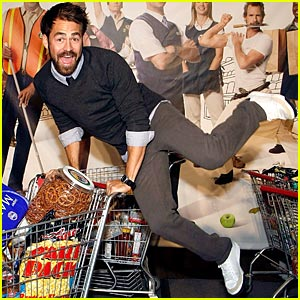 Kyle Howard is Shopping Cart Crazy