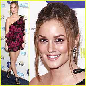 Leighton Meester - She's So Lucky, She's A Star