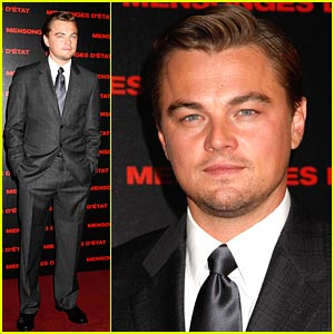 Leonardo DiCaprio 'Lies' in Paris