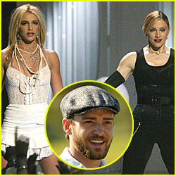 Madonna To Perform With Britney Spears AND Justin Timberlake Tomorrow