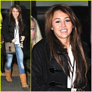 Miley Cyrus Loves It In London