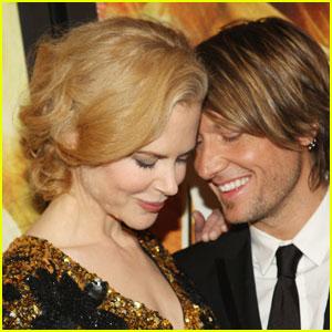 Nicole Kidman & Keith Urban Cozy Up