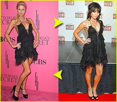 Vanessa Hudgens & Paris Hilton: Fashion Face-off!