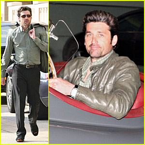 Patrick Dempsey Jumps Into His Jag