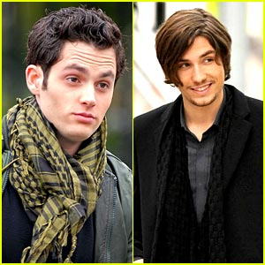 Penn Badgley is Scarf Sexy