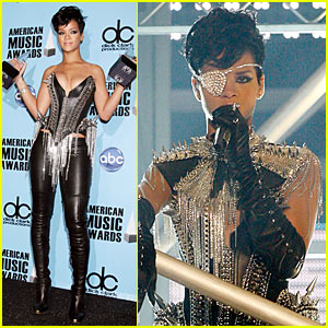 Rihanna is Eyepatch Sexy (2008 AMAs Performance Video)