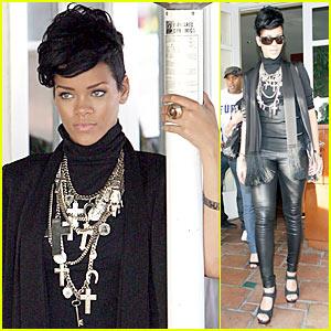 Rihanna Channels Mr. T