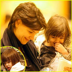 Suri Cruise is a Burberry Baby
