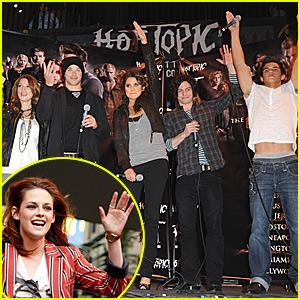 Twilight Cast Rocks Paramore's