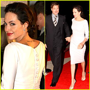 Angelina Jolie Hits NOLA 'Benjamin Button' Screening
