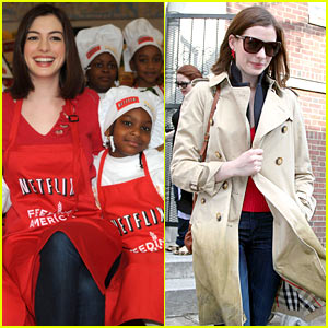 Anne Hathaway is Feeding America