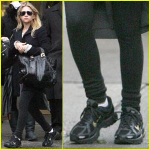 Ashley Olsen: Sexy in Sneakers