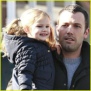 Violet and Ben Affleck Have Daddy-Daughter Day