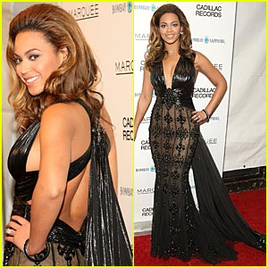 Beyonce Premieres Cadillac Records in NYC