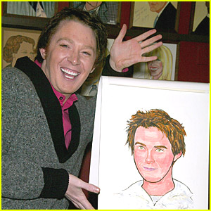 Clay Aiken is a Cute Caricature