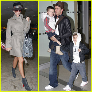 Victoria Beckham Is Home At Heathrow