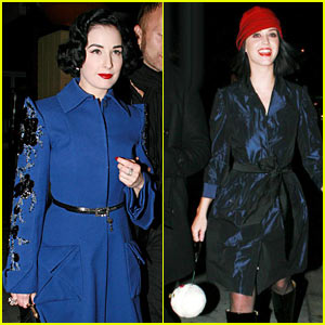 Dita Von Teese & Katy Perry: Sur Sweethearts