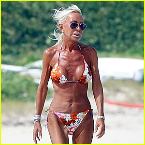 Sorry, this donatella versace bikini agree