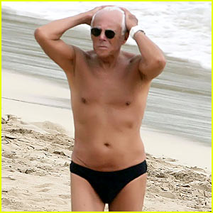 Giorgio Armani Gets Speedo'd