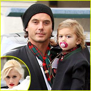 Gwen Stefani Attends Christmas Eve Service