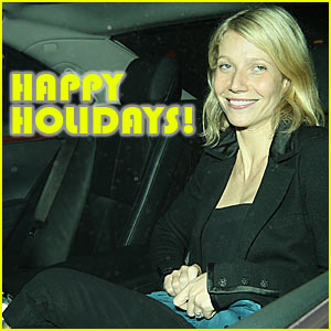 Gwyneth Paltrow: Happy Holidays!