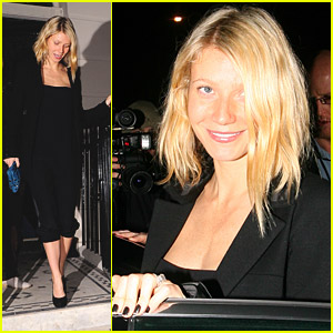 Gwyneth Paltrow is a Madonna Party Person