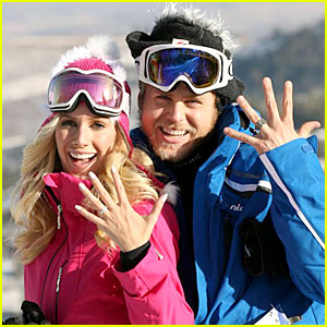 Heidi Montag & Spencer Pratt: Skiing Sensations!