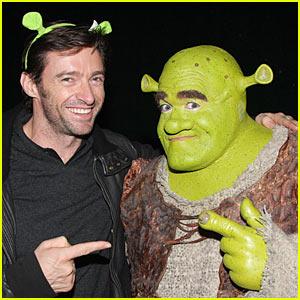 Hugh Jackman is Shrek Sexy