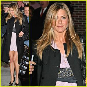 Jennifer Aniston Knows Her Neckties