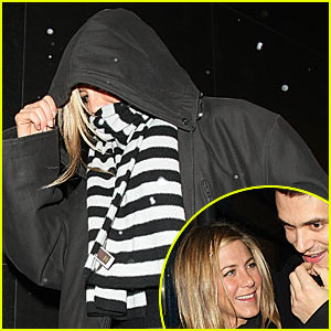 Jennifer Aniston: John Mayer Sleepover!