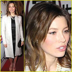 Jessica Biel is a Pearly Princess