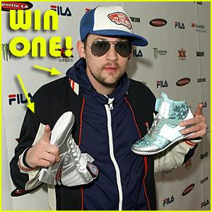 Win Joel Madden's Fila Track Jacket + Sneakers!