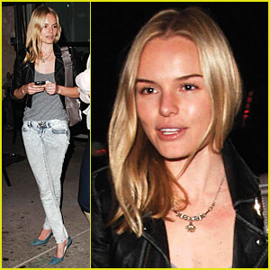 Kate Bosworth Digs Dogs