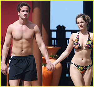 Kelly Brook & Danny Cipriani: Caribbean Couple