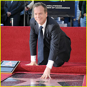 Kiefer Sutherland Stars On Hollywood Walk of Fame