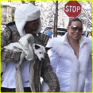 Mariah Carey is in a Winter Wonderland
