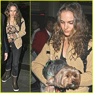 Natalie Portman Pups To It