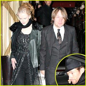 Nicole Kidman & Hugh Jackman: Paris Partners