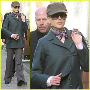 Nicole Kidman Loves London Art
