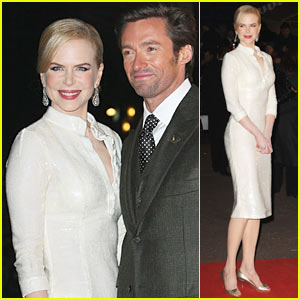 Nicole Kidman Premieres 'Australia' in London
