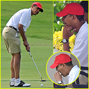 Barack Obama's Got (Golf) Game